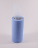 "Cotillion Blue Tulle 6"" x 100 yard spool (300 feet)"