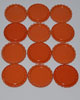 Flattened Cap - Orange DS (10 Pack)