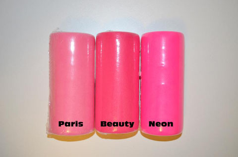 "Paris Pink Tulle 6"" x 100 yard spool (300 feet)"