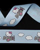 "7/8"" Grosgrain - Miss Kitty on a Plane (25 YD)"