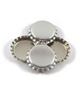 Bottle Cap - Chrome (10 Pack)