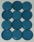 Standard Bottle Cap - Turquoise DS (10 Pack)