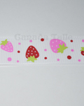 "1"" Grosgrain - Strawberry (25 YD)"