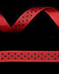 "3/8"" Grosgrain - DOTS Red w/Black Dots (Ladybug!) (25 YD)"