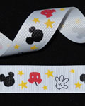 "7/8"" Grosgrain - Mr Mouse Gloves (25 YD)"