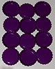 Standard Bottle Cap - Deep Purple DS (10 Pack)