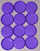 Standard Bottle Cap - Light Purple DS (10 Pack)