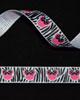 "3/8"" Grosgrain - Ms. Mouse Zebra (25 YD)"