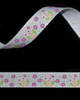 "3/8"" Grosgrain - Owl on White Ribbon (25 YD)"