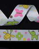 "7/8"" Grosgrain - Elephants and Giraffes (25 YD)"