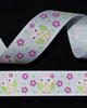 "7/8"" Grosgrain - Owl on White (25 YD)"
