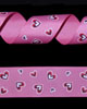 "1 1/2"" Grosgrain - Big Hearts - Shocking Pink on HotPink (25 YD)"