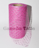 "Sparkle Glitter Pink Beauty 6"" x 25 yard spool (75 feet)"