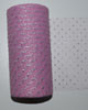 "Sparkle Glitter Paris Pink 6"" x 25 yard spool (75 feet)"