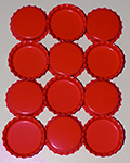 Standard Bottle Cap - Red DS (10 Pack)