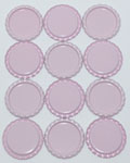 Flattened Cap - Light Pink DS (10 Pack)